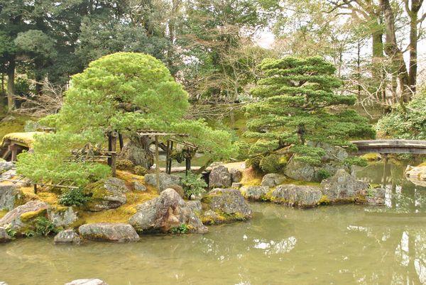 三宝院庭園 鶴島・亀島
