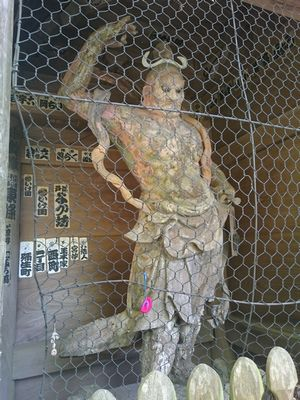 施福寺 仁王像