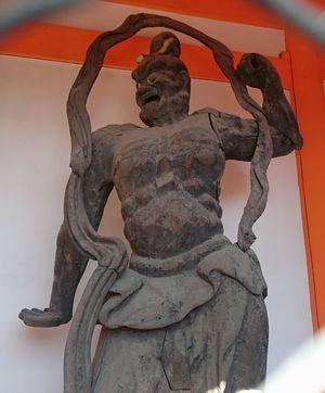 紀三井寺 金剛力士
