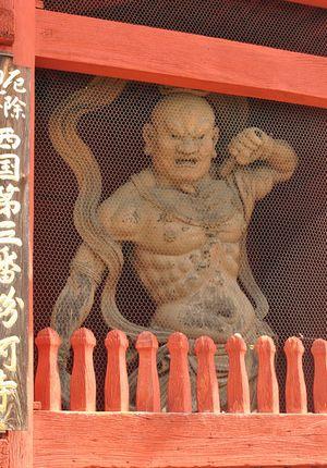 粉河寺 金剛力士像