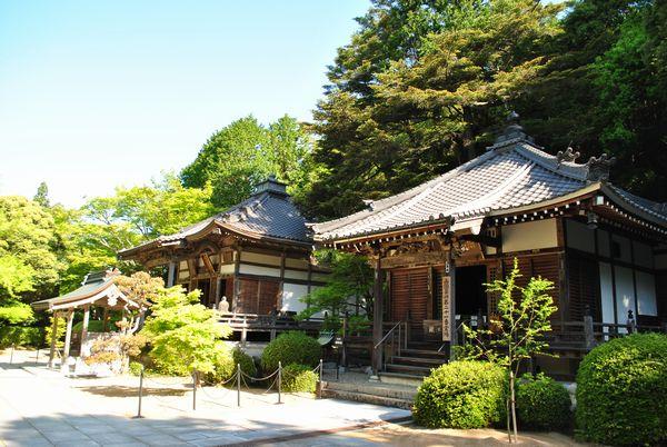 花山院菩提寺 本堂