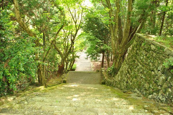 播州清水寺 旧参道