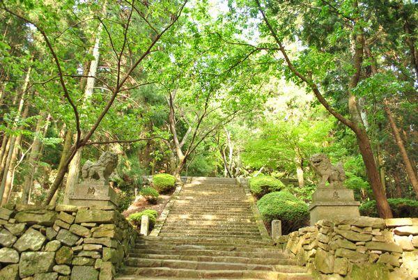 播州清水寺 獅子と狛犬