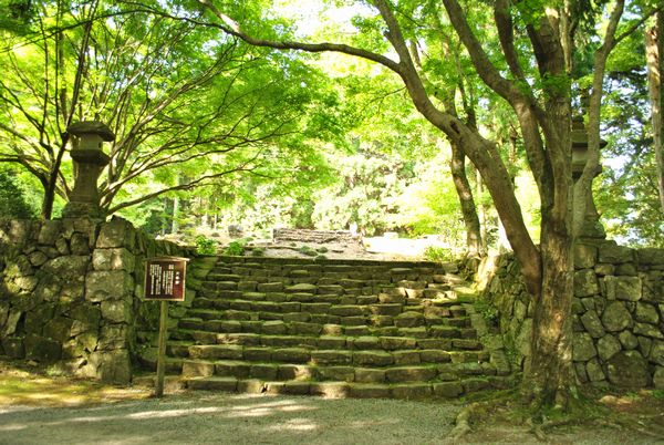 播州清水寺 多宝塔の跡