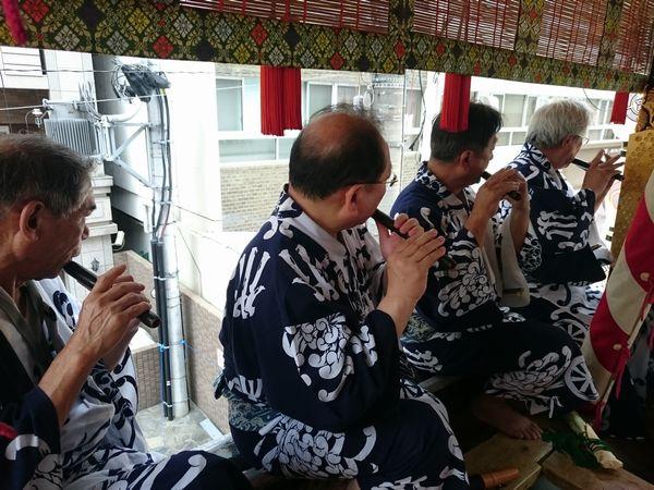 菊水鉾 笛