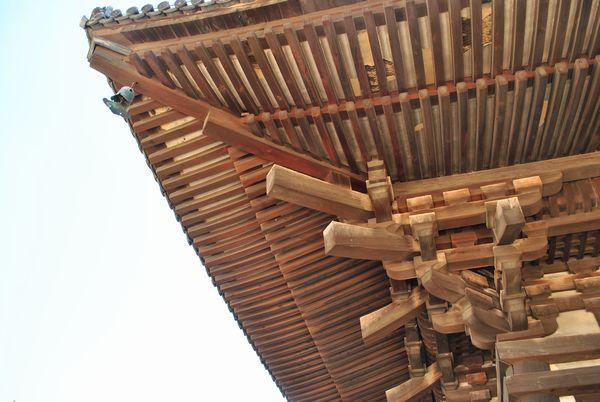 興福寺 五重塔 軒