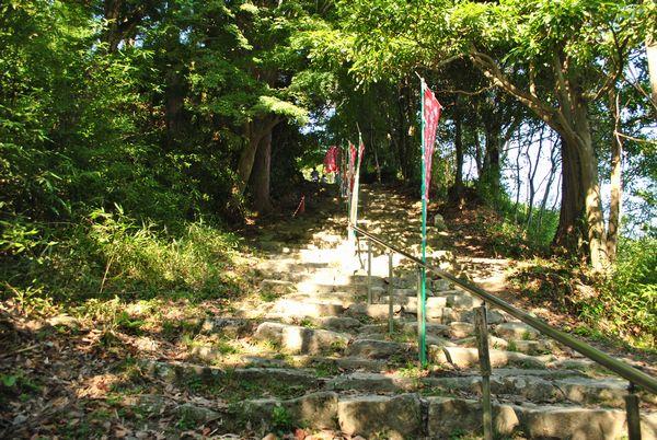 観音正寺 石段