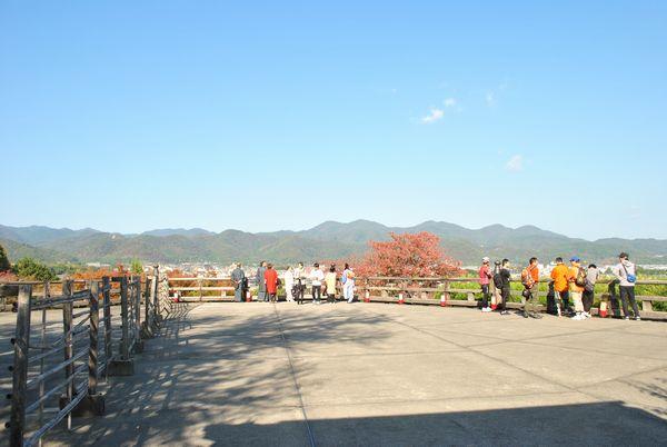 法輪寺 展望台