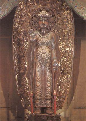 清凉寺式釈迦如来