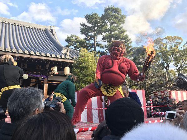 盧山寺 鬼踊り