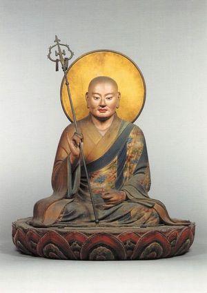僧形八幡神坐像