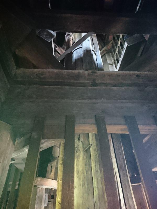 八坂の塔 心柱