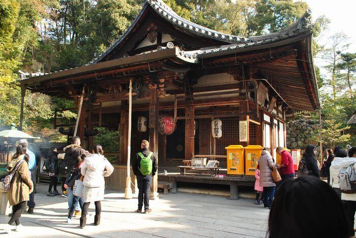 金閣寺 不動堂