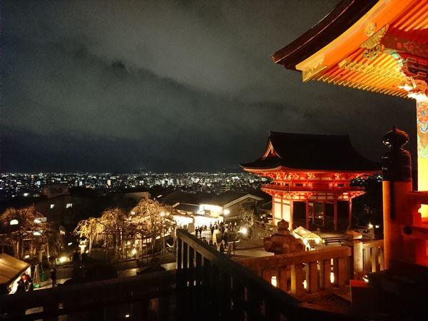 清水寺 夜景