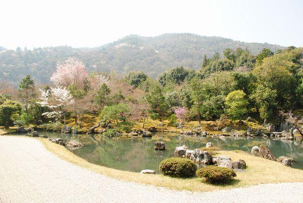 曹源池庭園 借景