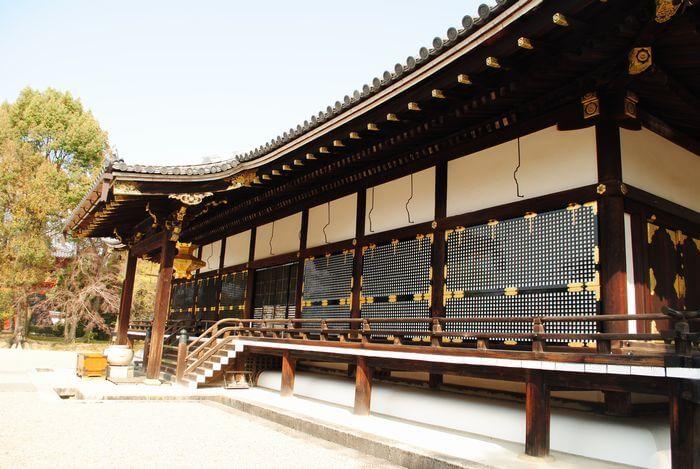 仁和寺 蔀戸