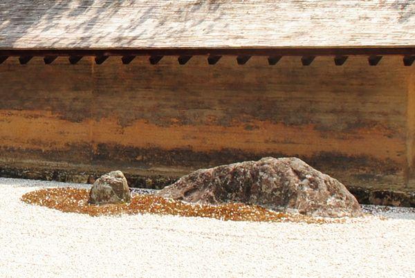 竜安寺 刻印石