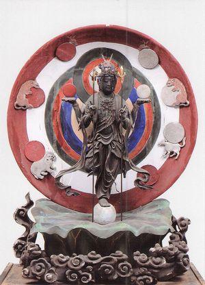 三井寺 尊星王