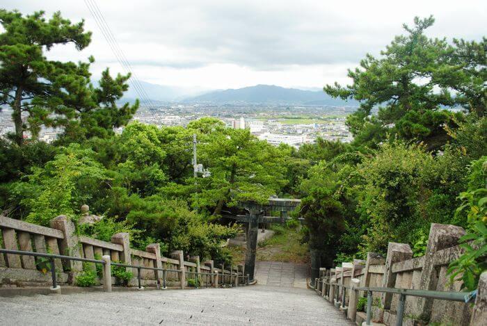 琴平八幡宮 景色