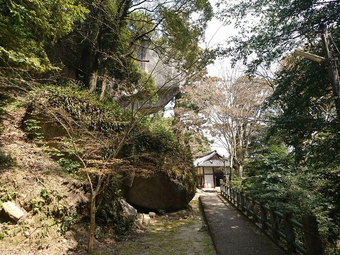 笠置寺 巨岩