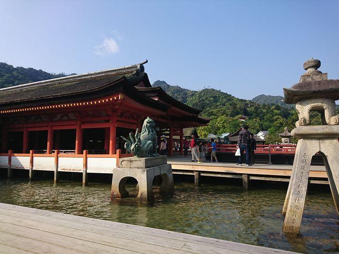 厳島神社 拝殿