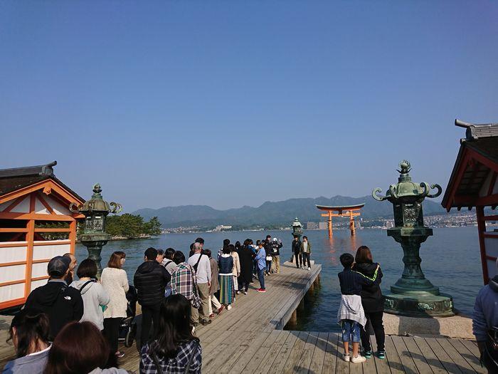 厳島神社 火焼前