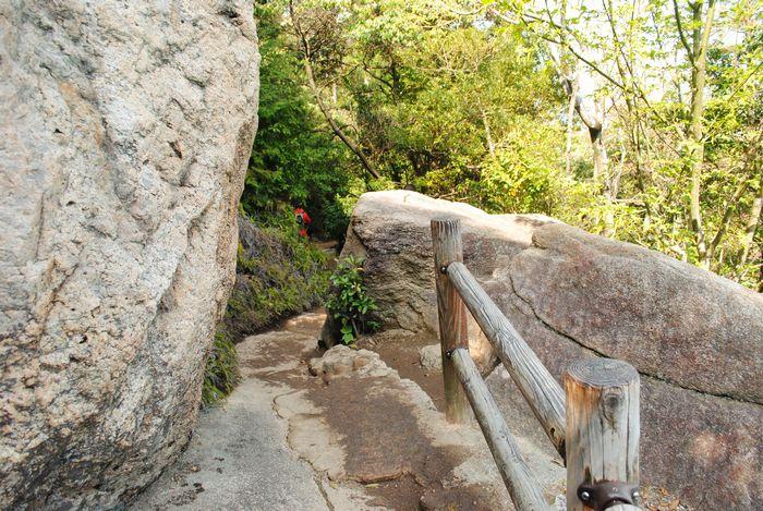 弥山 岩場