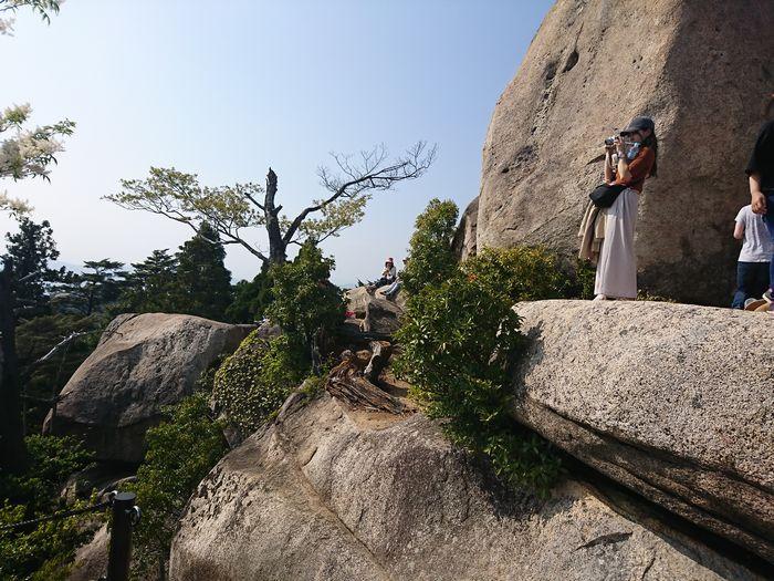 弥山 巨石