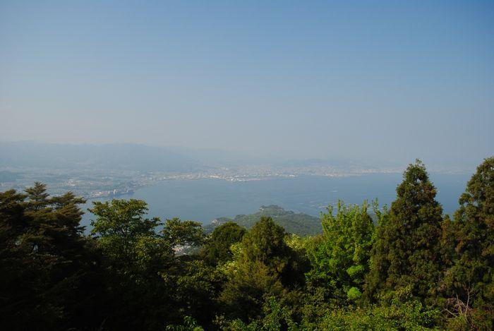 弥山 風景