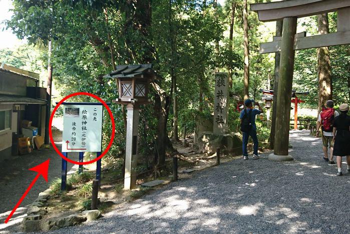檜原神社へのアクセス