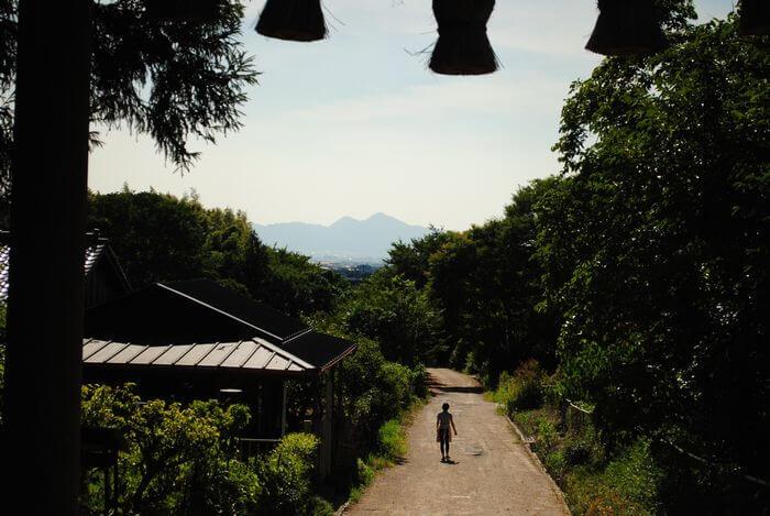 檜原神社 二上山