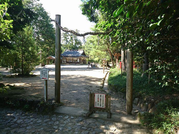 檜原神社 鳥居