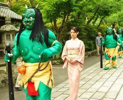 石山寺 青鬼祭