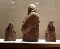 建部大社 女神神像