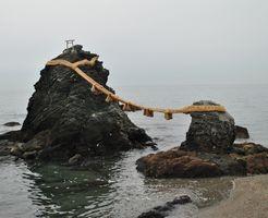 二見興玉神社 夫婦岩